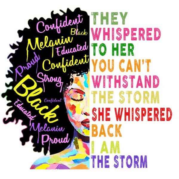 Black Lives Matter Strong Black Woman T-Shirt