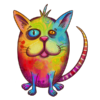 Colorful Rainbow Cats T-Shirt