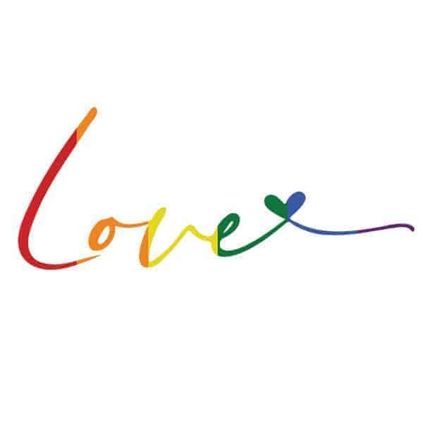 Gay LOVE LGBTQ T-Shirt